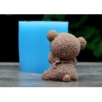 China Bear Shaped Food Safe Silicone Dcoration Molds For Wedding Cake ,Rubber Silicone Mold wholesale