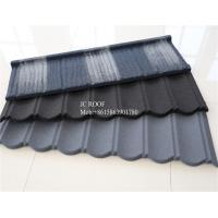 Wholesale Colorful Stone Chip Coated Metal Roof Tiles / Galvalume Steel Roof Tile Sheets from china suppliers