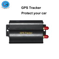 Wholesale Real Time Alarm Vehicle Car GPS Tracker Quad-Band SD Card Slot With Remote Control from china suppliers