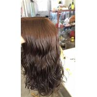 14 Inches  European Human Hair Kosher Wigs #4 Body Wave Small Layer In Stock