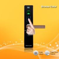 Wholesale Remote Control Password Door Lock Zinc Alloy Material For Home / Office Security from china suppliers