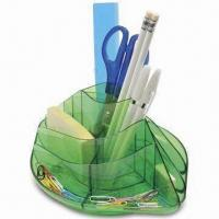 Wholesale 360° Rotary Desk Organizer with 28mm Plastic Paper Clips, Available in Various Colors from china suppliers