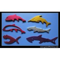 China Fashion animal shapes various colors alumimum promotional metal beer bottle opener gift on sale
