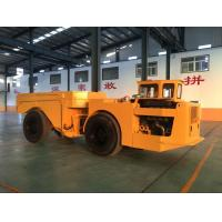 Wholesale Yellow Heavy Duty Low Profile Dump Truck For Underground Mining from china suppliers