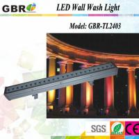 China Wedding Party Light  75W  Led Wall Wash Lights With 6 Channel Dmx Controller wholesale