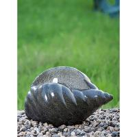 China Shell Shape Cast Stone Fountains For Home Decoration Weather Resistant wholesale