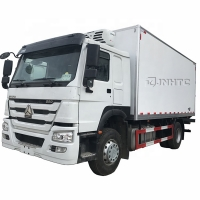 Buy cheap HOWO 290hp euro2 4x2 15ton Refrigerator freezer Refrigerated Truck Small Truck from wholesalers