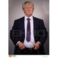 Wholesale Indoor Playground lifesize Donald Trump Look-Alike Wax Figure from china suppliers
