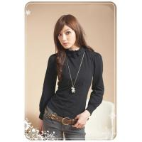 Wholesale L1023 Extra thick cashmere morden top from china suppliers