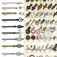 Wholesale Wrought Iron Curtain / Accessories from china suppliers