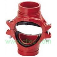Fire fighting grooved fittings  Cross, Mechanical Grooved
