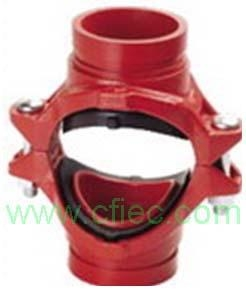 Quality Fire fighting grooved fittings  Cross, Mechanical Grooved for sale