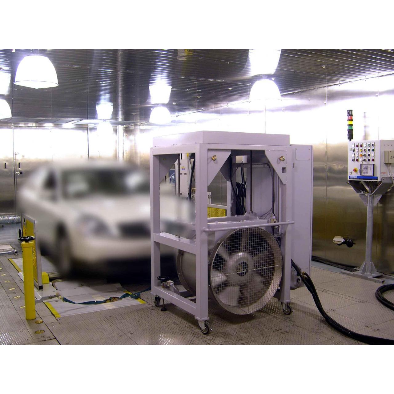 Automobile Emission Testing Chamber