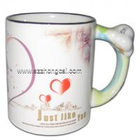 Buy cheap Sublimation consumable Mugs Snake Handle(TC-DW09) from wholesalers