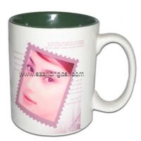 Buy cheap Sublimation consumable Mugs Two-Tone Green(TC-NC08) from wholesalers
