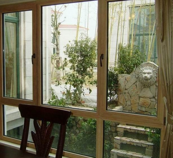 Jixin german style aluminum clad wood window 90 series for Window in german