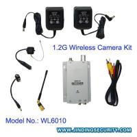 Wholesale (JD-WL6010) 1.2G Wireless Pinhole Camera(size: 20x22 mm ) and Receiver from china suppliers