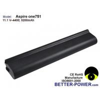 China Laptop batteries Model: Aspire one 751 on sale