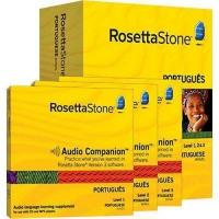Wholesale Rosetta Stone Version 3: Portuguese Level 1, 2 & 3 Set with Audi from china suppliers