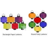 China Lighted Paper Lanterns on sale