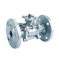 Wholesale 3pcs flange ball valve with ISO from china suppliers