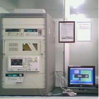 BCE8000A temperature frequency characteristics of the test system
