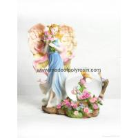Wholesale polyresin/polystone flower fairy waterball from china suppliers