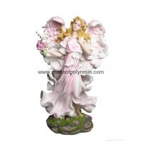 Wholesale polyresin standing fairy, resin fairy, fairy statue from china suppliers