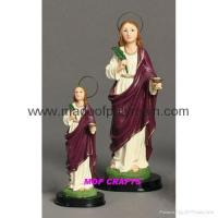 Wholesale Polyresin Saint Lucy Resin Saint Lucy from china suppliers