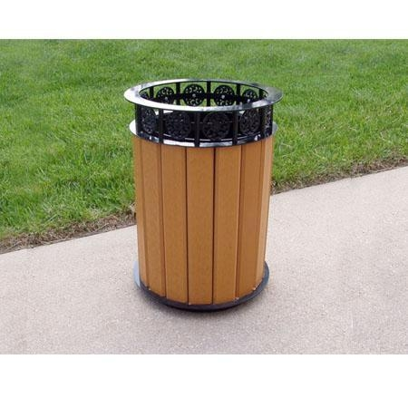 Trash receptacles c rd02 of item 36713285 - Rd trash can for sale ...