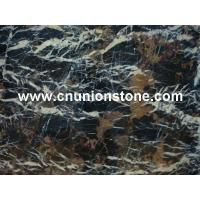 Wholesale Black Golden Flower Marble from china suppliers