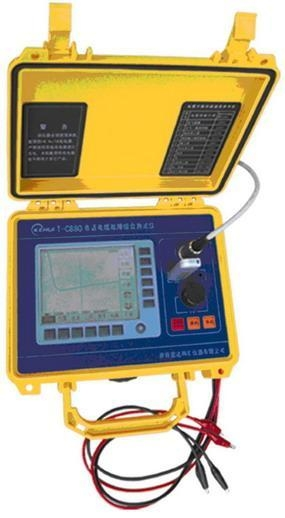 Cable Fault Locator On Line : T c cable fault locator of item