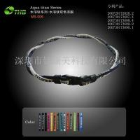 Health Movement Jewelry Name :Two-color necklace