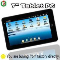 Buy cheap 7.0 inch touch screen camera tablet PC MID from wholesalers