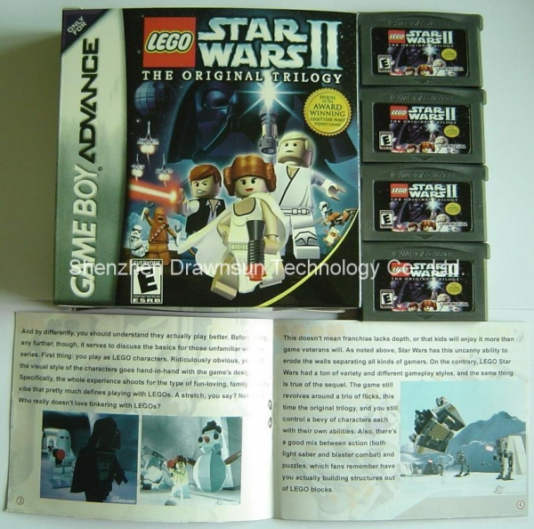 Quality GBA game card- Lego Star wars 2 for sale