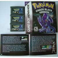 Wholesale GBA game card-Pokemon Chaos black from china suppliers