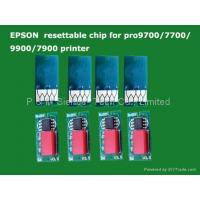 Buy cheap Epson Pro 9700 resettable chip from wholesalers