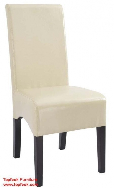 TF DC467 High Back Leather Dining Chair Of Topfook