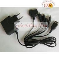 Wholesale FS25054 8in1 AC Power Adaptor for NDSi/NDSL/NDS/GBA SP/PSP/MINI 5P/iPOD/iPhone from china suppliers