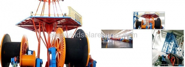 Jlc Vertical Laying Up Machine For Submarine Cable Images
