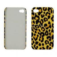 Wholesale Leopard Style Plastic Case for iPhone 4 from china suppliers