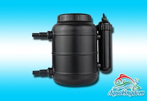 Biological uv pond filter of aquakingdom for Biological pond filter