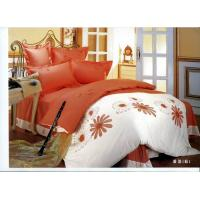 China Embroider Cotton Bedsheet Sets wholesale
