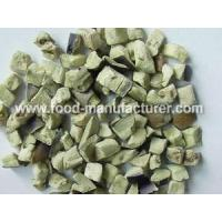 Wholesale Freeze Dried Vegetables Freeze Dried Aubergine Diced from china suppliers