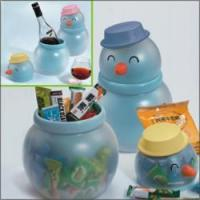 China Gifts/Crafts B064 Snowman candy container wholesale