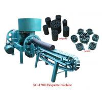 Wholesale Horizontal coal briquette machine SG-120H Coal briquette machine from china suppliers