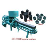 Wholesale Horizontal coal briquette machine SG-160H Coal briquette machine from china suppliers