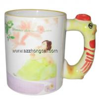 Buy cheap Sublimation consumable Mugs Rooster Handle(TC-DW04) from wholesalers