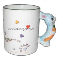 Buy cheap Sublimation consumable Mug Rabbit Handle(TC-DW07) from wholesalers