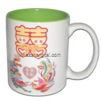 Buy cheap Sublimation consumable Mugs Two-Tone LightGreen(TC-NC07) from wholesalers